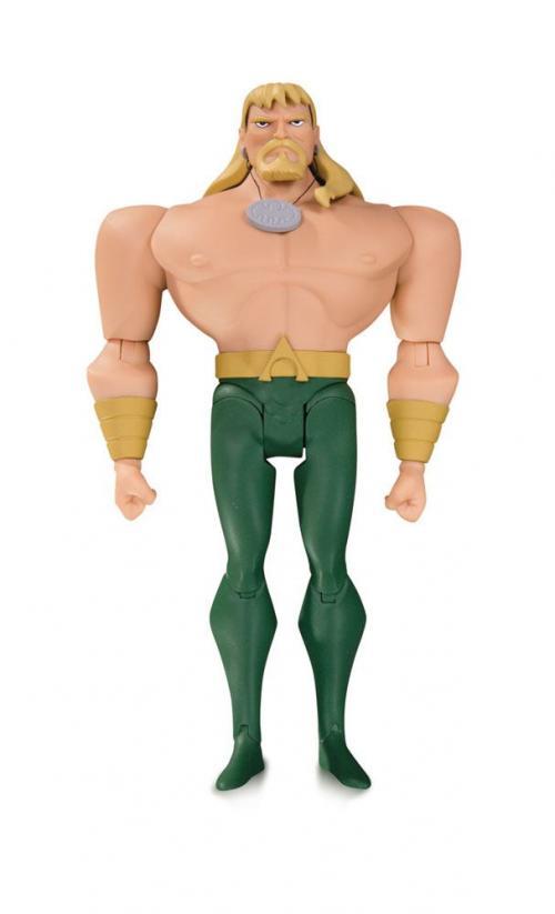 JUSTICE LEAGUE ANIMATED SERIES - Aquaman - Figurine 14cm