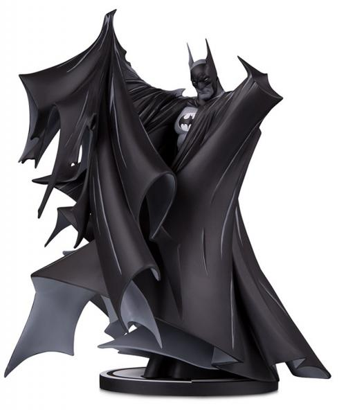 DC COMICS - Batman Black & White Statuette Deluxe - 24cm
