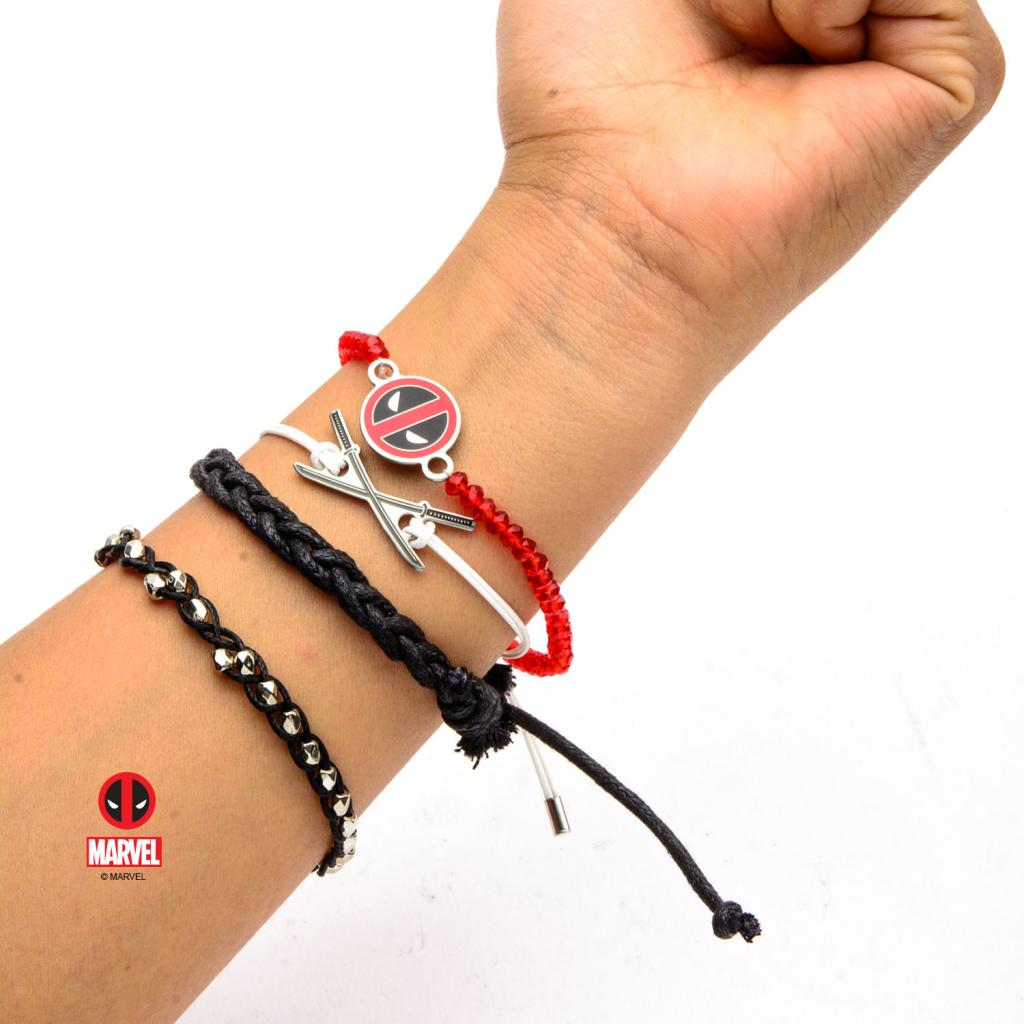 MARVEL - Deadpool Arm Party Bracelet Set