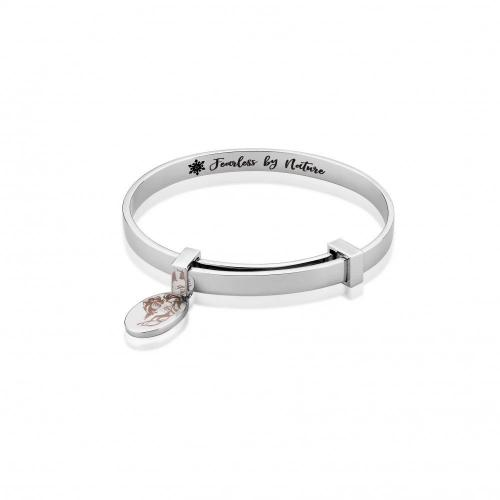 FROZEN 2 - Bracelet extensible Elsa 'Plaqué or blanc'