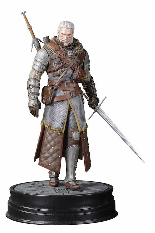 THE WITCHER 3 The Wild Hunt - Figurine Geralt Grandmaster Ursine -20Cm