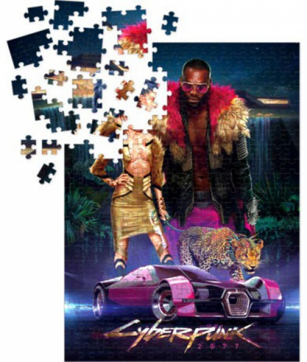 CYBERPUNK 2077 - Puzzle 1000P - NeoKitsch_1