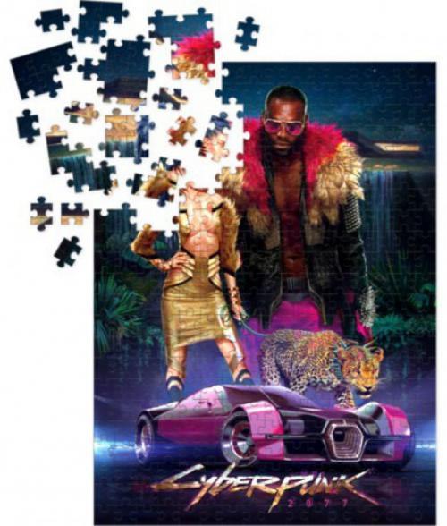 CYBERPUNK 2077 - Puzzle 1000P - NeoKitsch