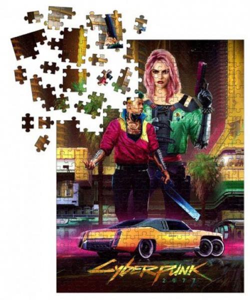 CYBERPUNK 2077 - Puzzle 1000P - Kitsch