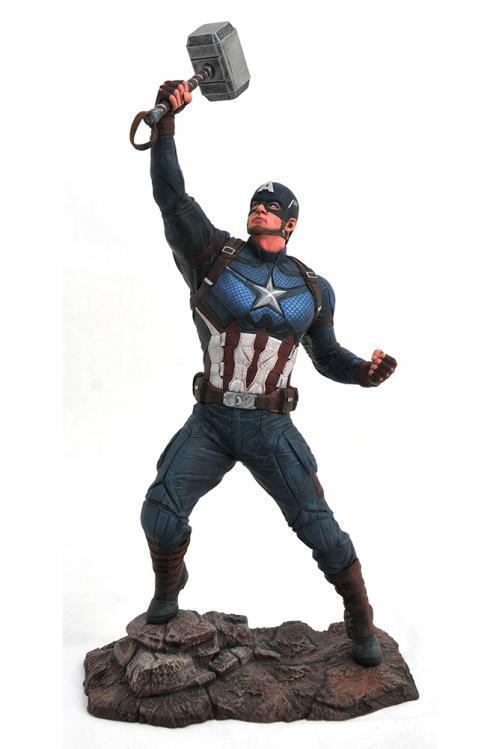 MARVEL GALLERY - Avengers Endgame Cap. America PVC Statue - 25cm