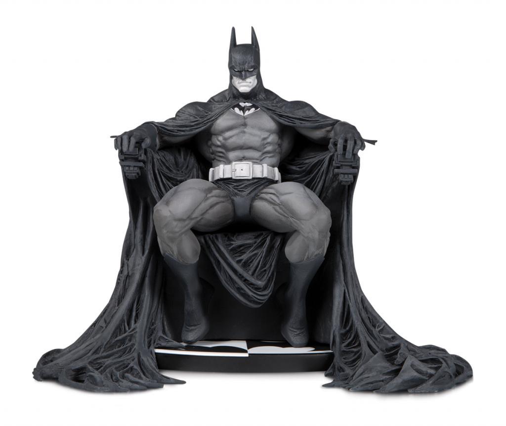 DC COMICS - Statuette Batman Black & White by Marc Silvestri - 15cm