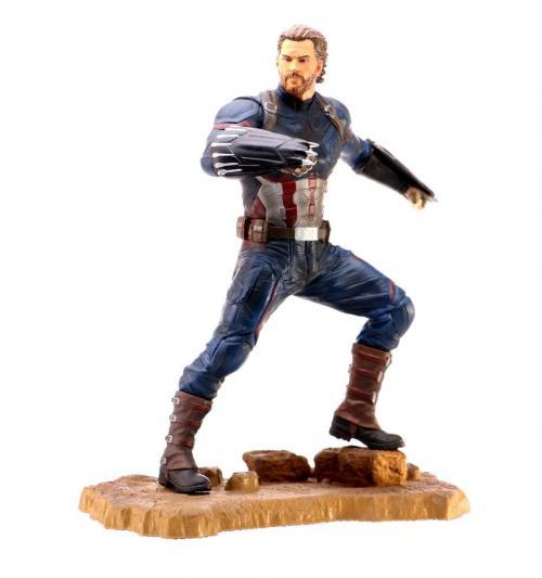 MARVEL - Captain America - Statuette 23cm