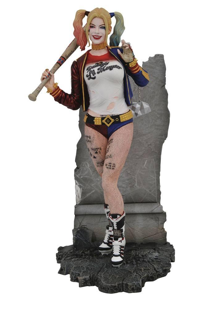 DC MOVIE GALLERY - Suicide Squade Harley Quinn - 20cm