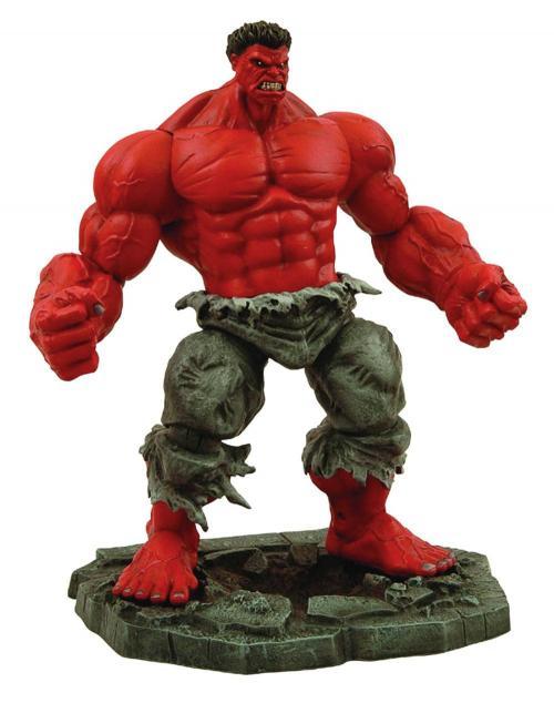 MARVEL - Figurine The Red Hulk 25cm - Marvel Select