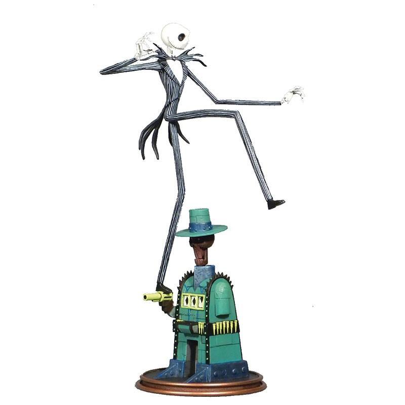 NIGHTMARE BEFORE CHRISTMAS - Statuette - Oogie's Lair Jack - 35cm