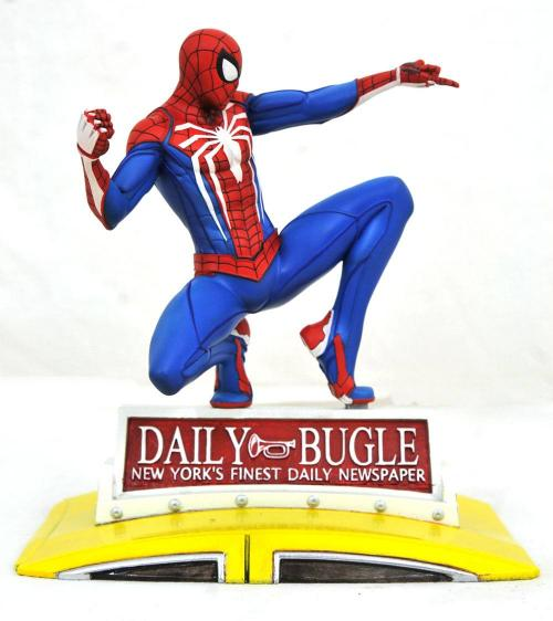 MARVEL - Spider-Man on Taxi - Diorama 23cm