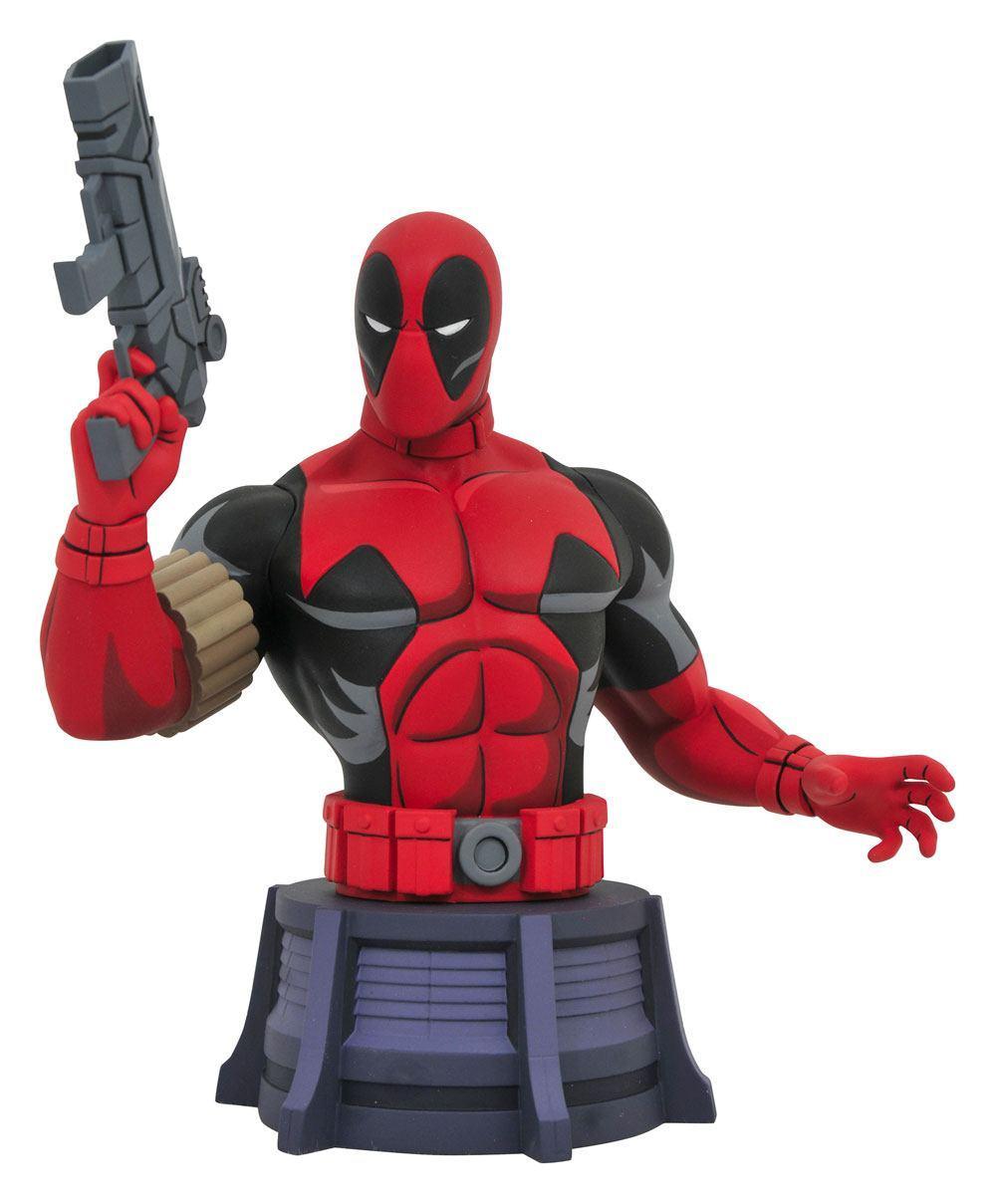 MARVEL - Animated X-Men Deadpool - Buste 16cm_1