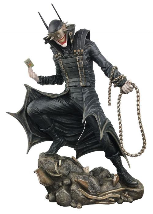 DC COMICS - The Batman who Laughs - Statuette 23cm