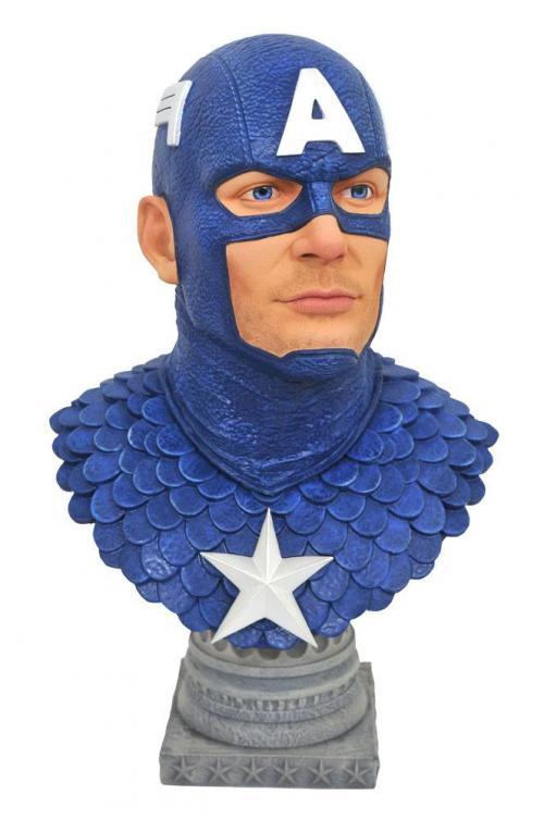 MARVEL - Captain America - Buste 25cm