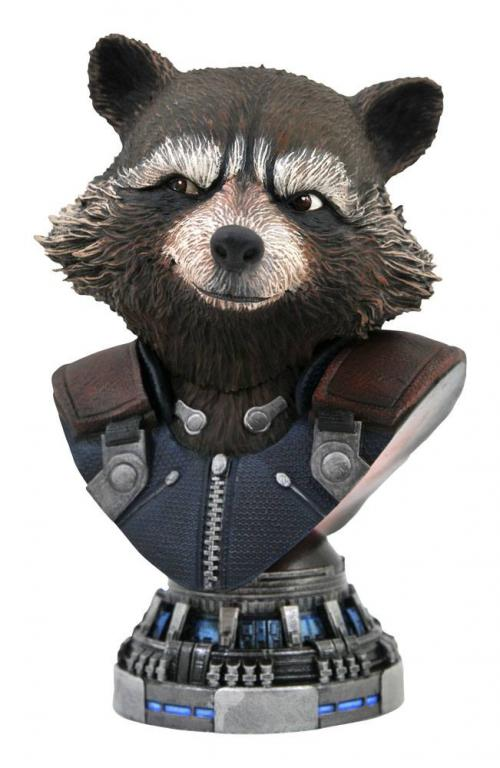 AVENGERS ENDGAME - Rocket Raccoon - Buste Legends in 3D 20cm