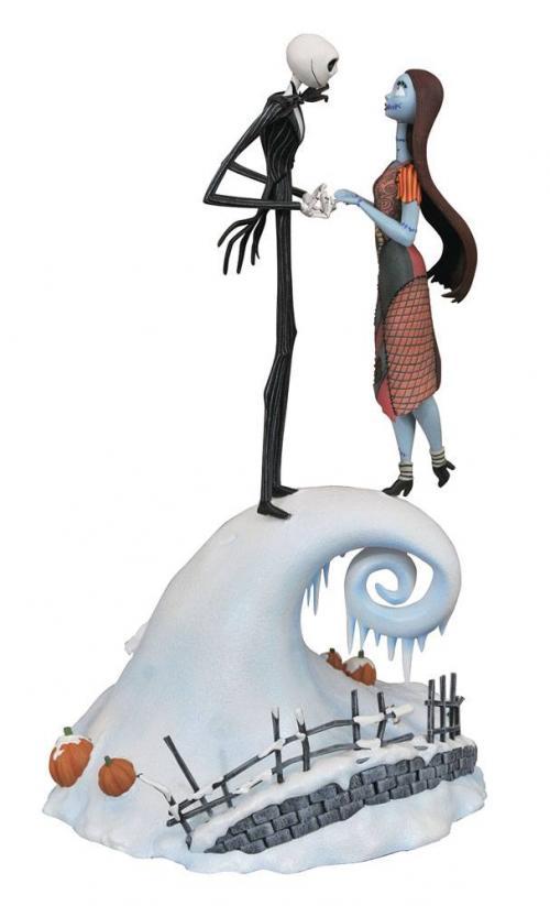 NBX - Milestones Jack & Sally - Statuette 36cm