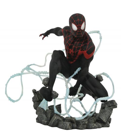 MARVEL - Comic Premier Gallery Miles Morales Spider-Man - 23cm