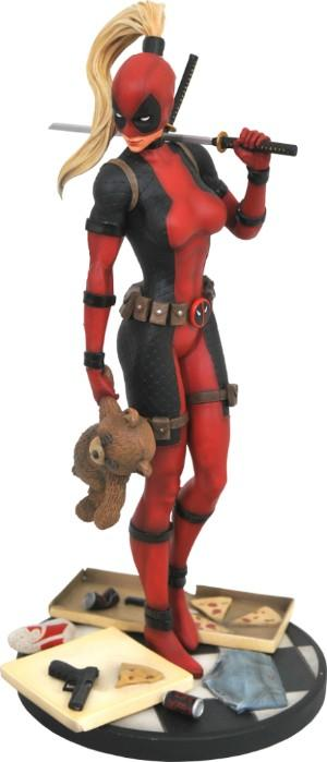 MARVEL PREMIUM COLLECTION - Lady Deadpool Resin Statue - 30cm_1