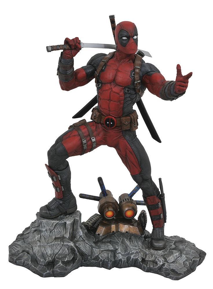 MARVEL PREMIER COLLECTION - Deadpool Statue - 30cm