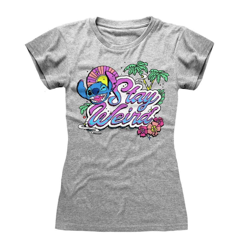 DISNEY - Lilo & Stitch - T-Shirt - Stay Weird (S)