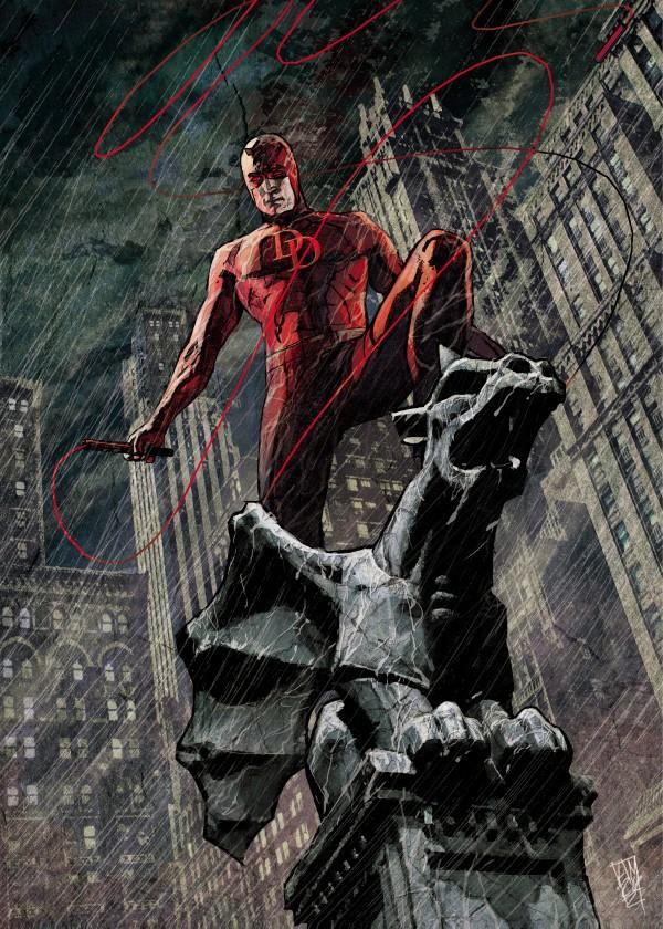 DEVIL OF HELLS KITCHEN - Magnetic Metal Poster 45x32 - Urban Warrior