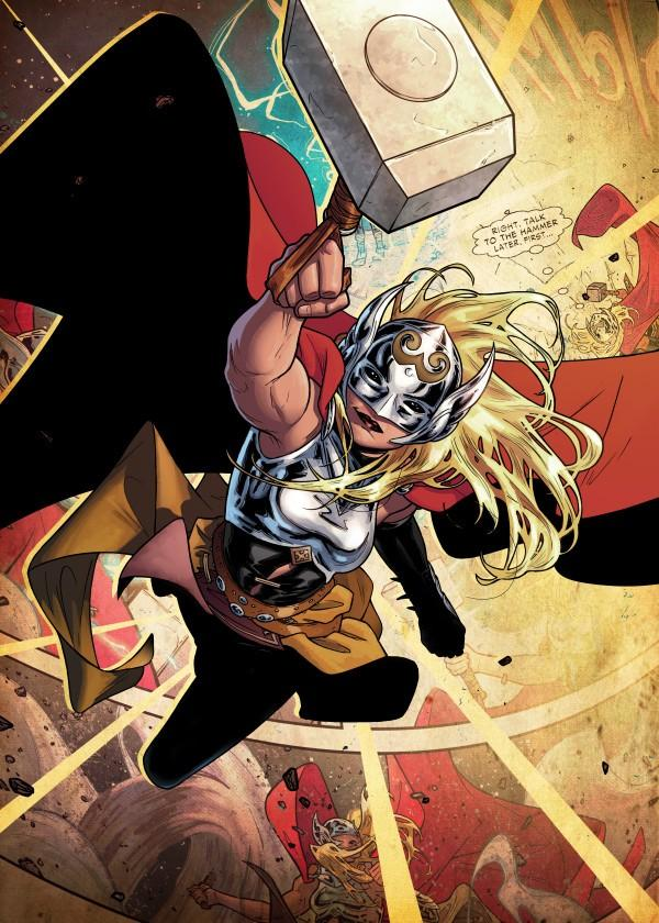 MARVEL ALL NEW - Magnetic Metal Poster 45x32 - Thor Jane Foster (M)_2