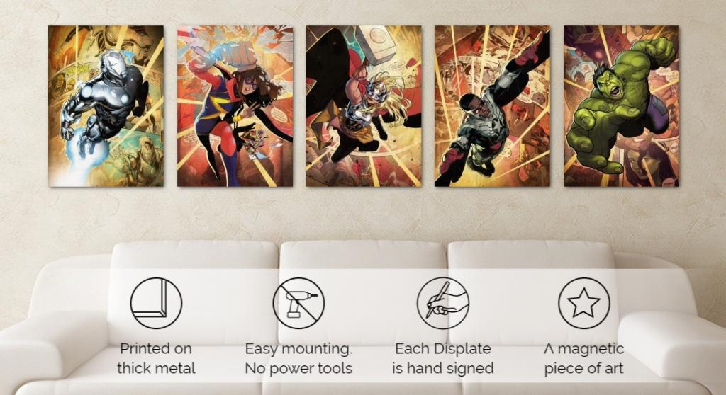 MARVEL ALL NEW - Magnetic Metal Poster 45x32 - Thor Jane Foster (M)_5