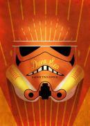 STAR WARS MASKED TROOPER - Magnetic Metal Poster 15x10 - Sandtrooper