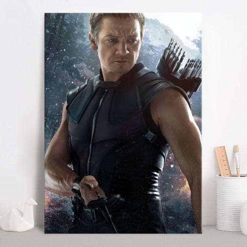 AGE OF ULTRON CHARACTERS - Magnetic Metal Poster 45x32 - Hawkeye_3