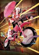 MARVEL ALL NEW - Magnetic Metal Poster 15x10 - Gwenpool (S)