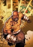 MARVEL ALL NEW - Magnetic Metal Poster 15x10 - Luke Cage (S)