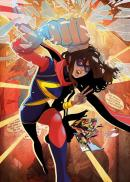 MARVEL ALL NEW - Magnetic Metal Poster 15x10 - Ms Marvel (S)