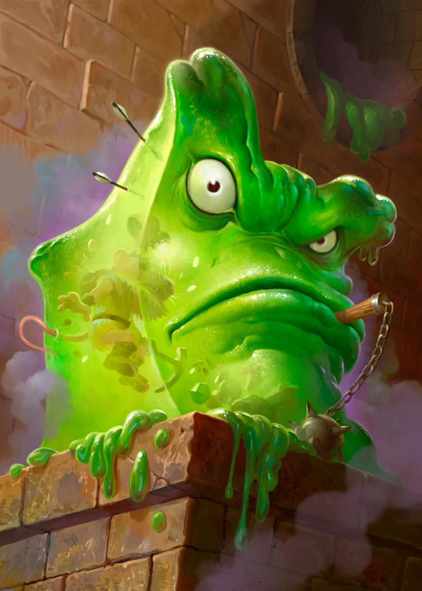 HEARTHSTONE - Magnetic Metal Poster 31x21 - Carnivorous Cube_1