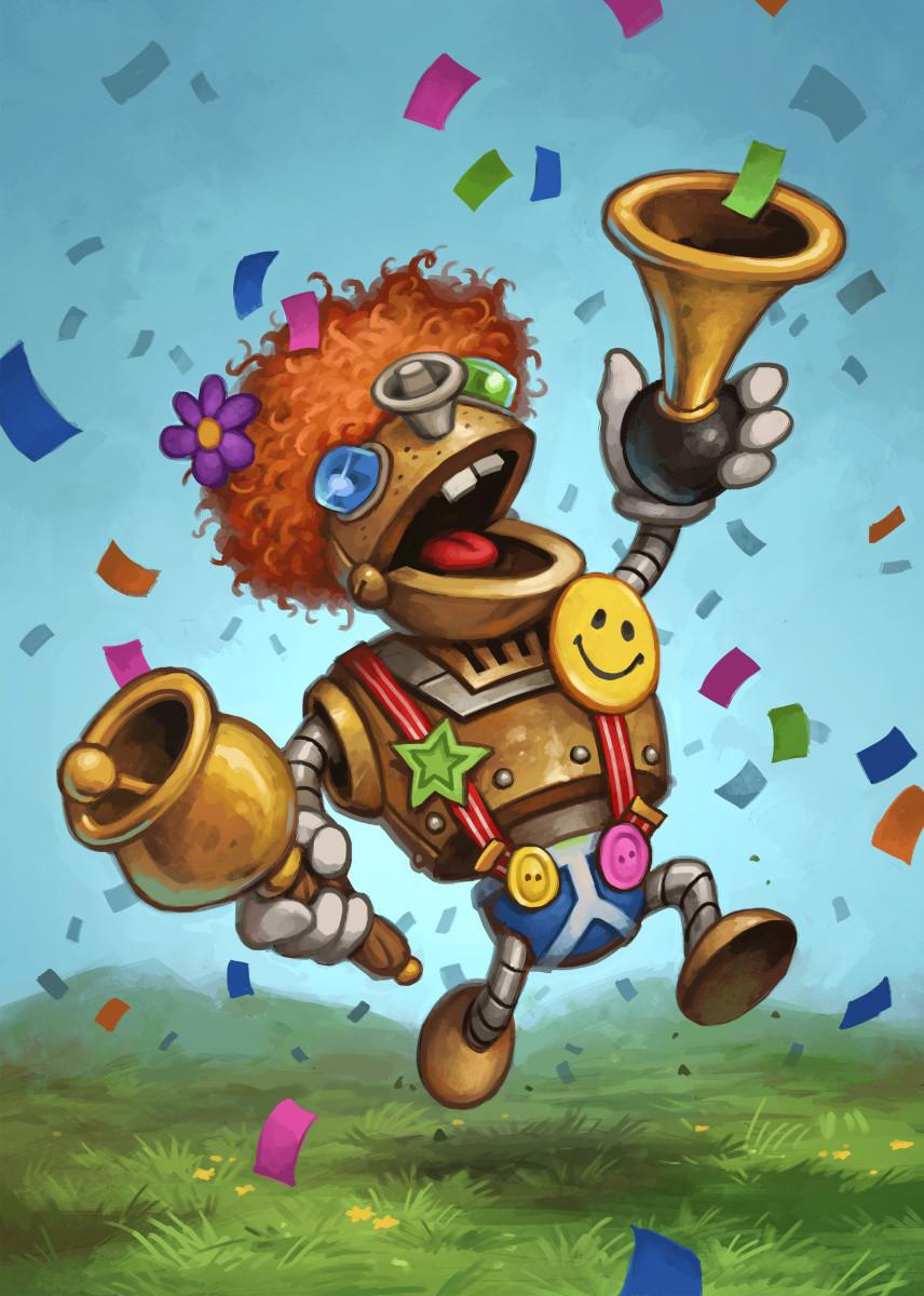 HEARTHSTONE - Magnetic Metal Poster 31x21 - Annoy-o-Tron_1