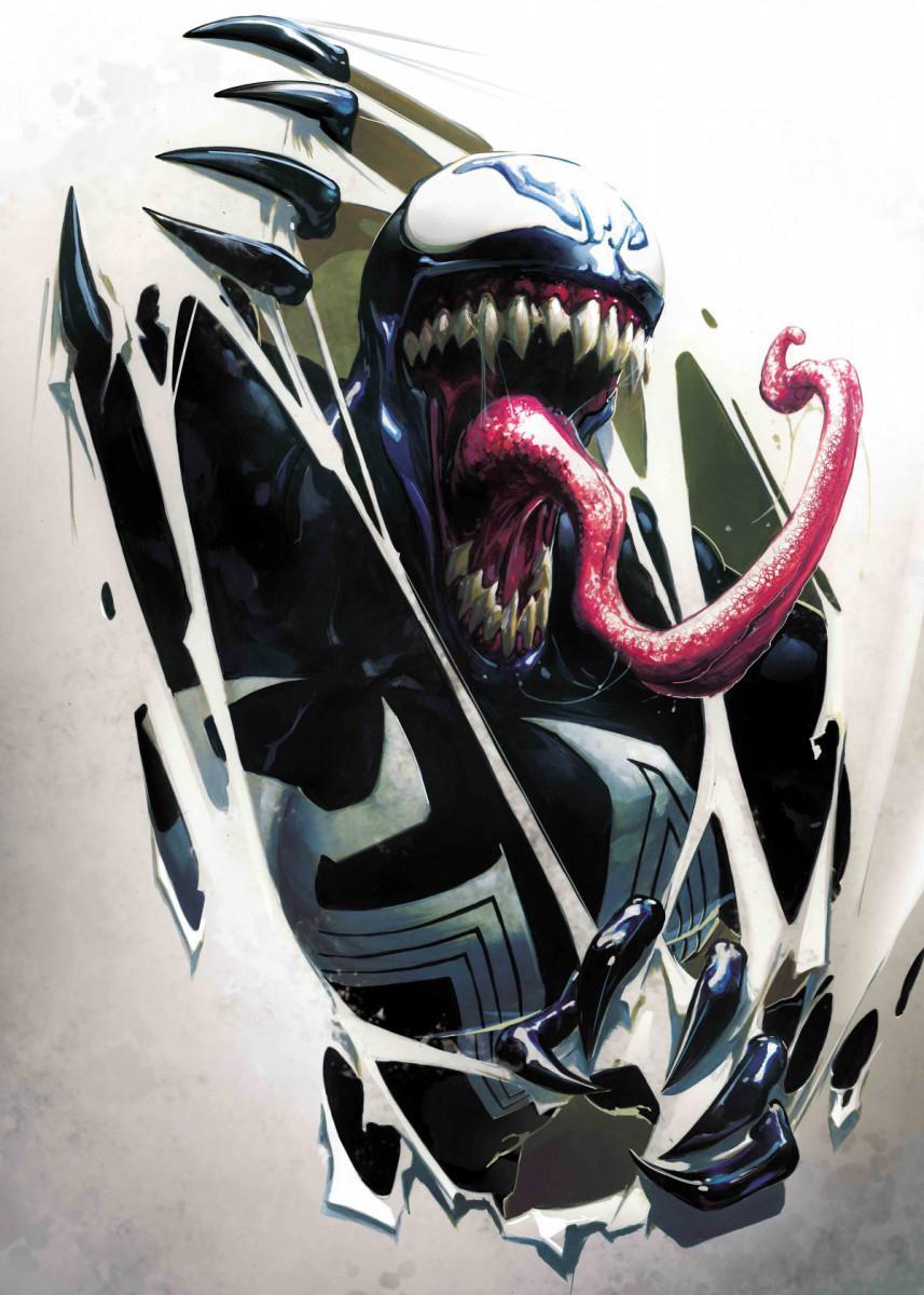 MARVEL VENOM - Magnetic Metal Poster 31x21 - Symbiote