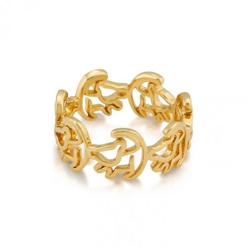LION KING - Simba Ring 'Gold Plated' (Size 7)