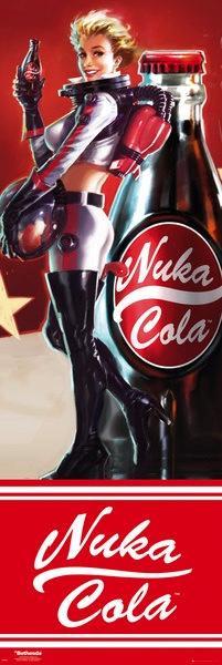 FALLOUT - Poster Porte 53X158 - Nuka Cola