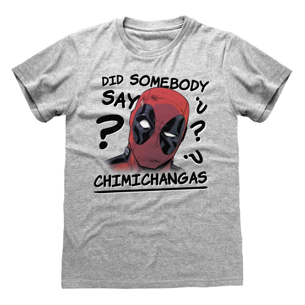 MARVEL - T-Shirt Deadpool - Chimichangas (XXL)