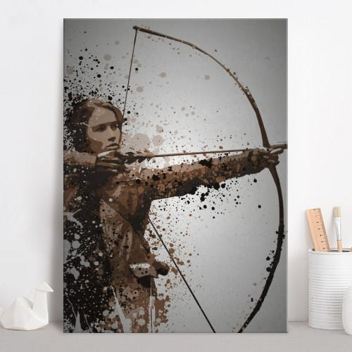 PC SPLATTER - Magnetic Metal Poster 45X32 - Mockingjay_2