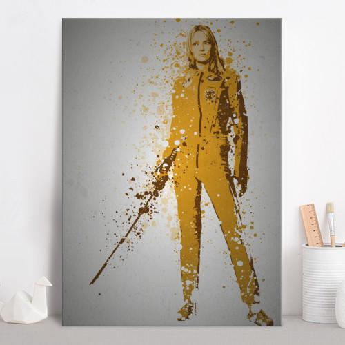 PC SPLATTER - Magnetic Metal Poster 45X32 - The Bride_2