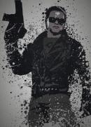 PC SPLATTER - Magnetic Metal Poster 45X32 - Ill be back