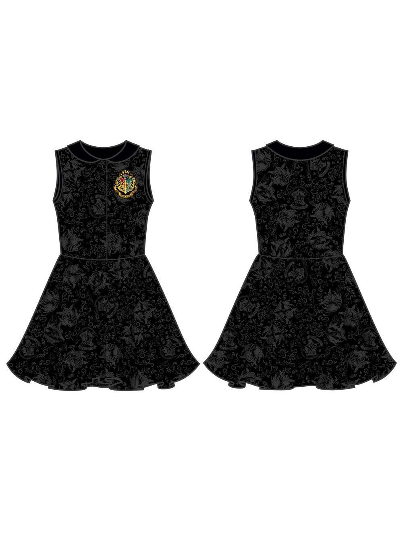 HARRY POTTER - Hogwarts Crest Collar Dress (XL)