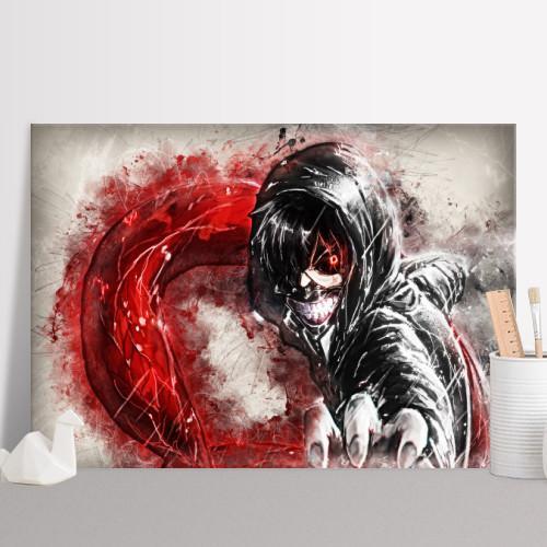 RAPTURE- Magnetic Metal Poster 45x32 - Tokyo ghoul Fanart_2