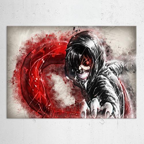 RAPTURE- Magnetic Metal Poster 45x32 - Tokyo ghoul Fanart_4