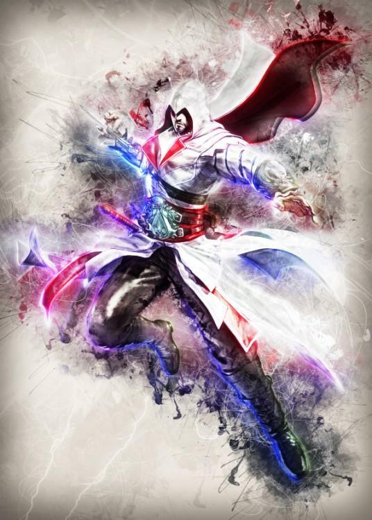 RAPTURE- Magnetic Metal Poster 45x32 - Ezio fanart