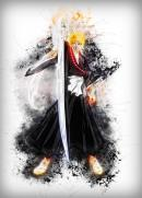 RAPTURE- Magnetic Metal Poster 45x32 - Ichigo From Bleach