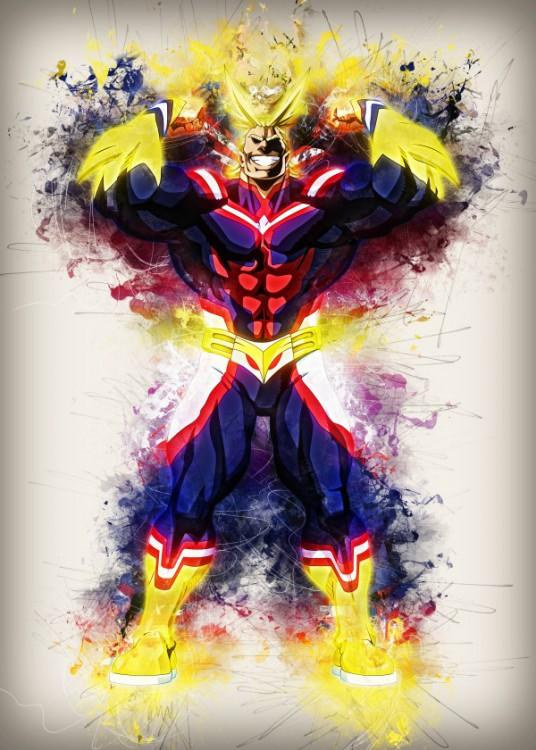 RAPTURE- Magnetic Metal Poster 45x32 - All Might