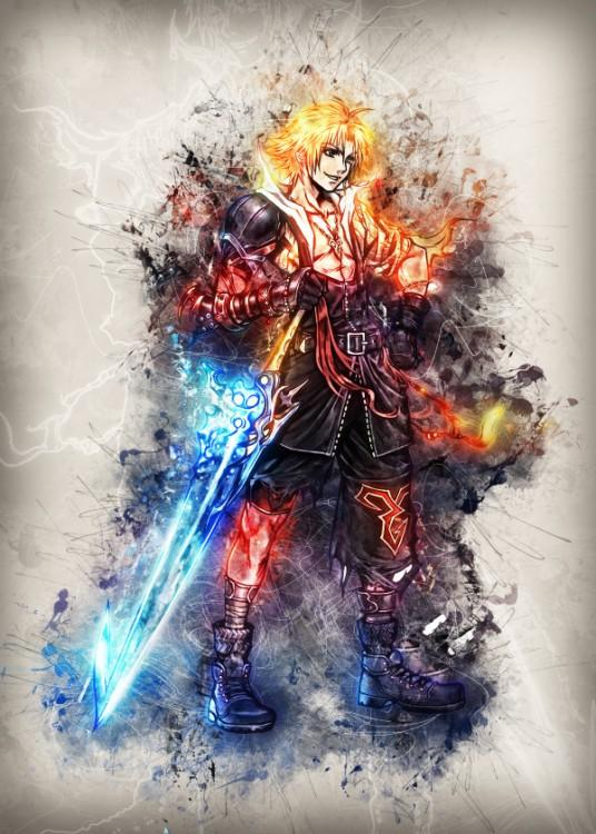 RAPTURE- Magnetic Metal Poster 45x32 - Tidus