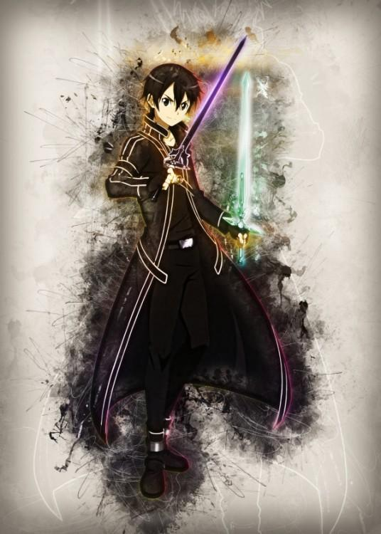 RAPTURE- Magnetic Metal Poster 45x32 - Kirito