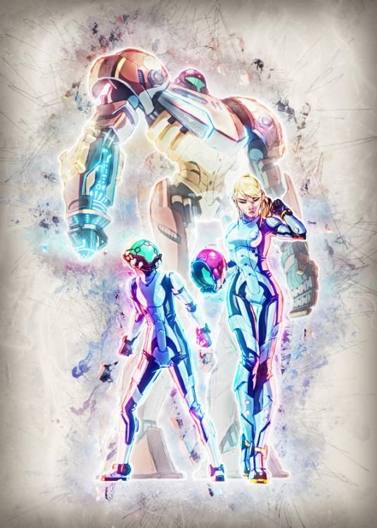 RAPTURE- Magnetic Metal Poster 45x32 - Samus Tri